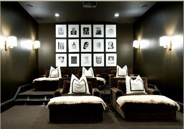 Benecki Homes Media Room