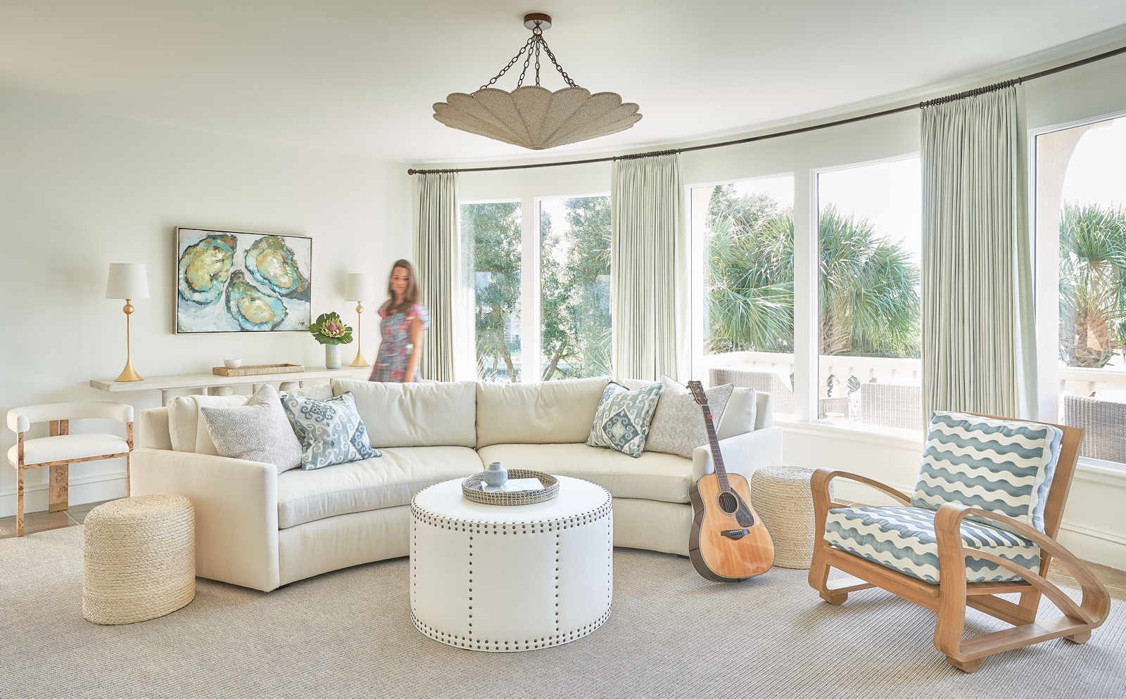 Photo showing interior design for Figure Eight project